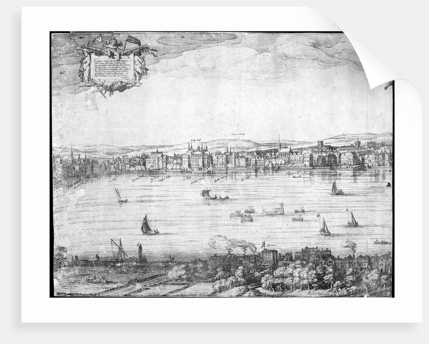 Panorama of London by Claes Jansz Visscher