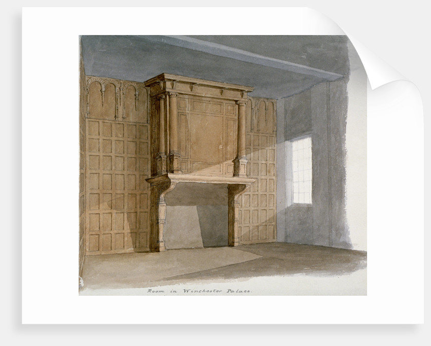 Interior of a room in Winchester House, Winchester Place, London by Anonymous