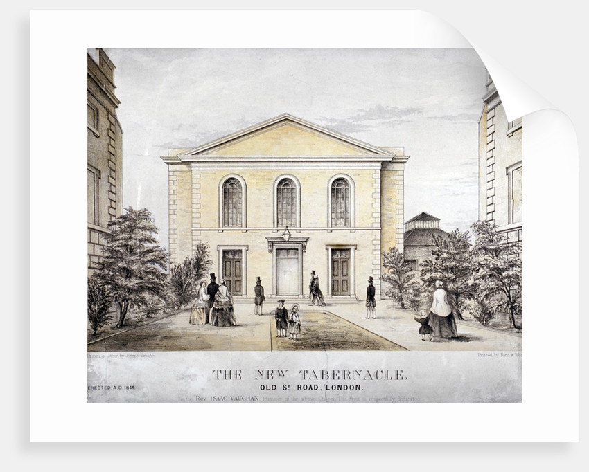 The Tabernacle, Old Street, Finsbury, London by Ford and West
