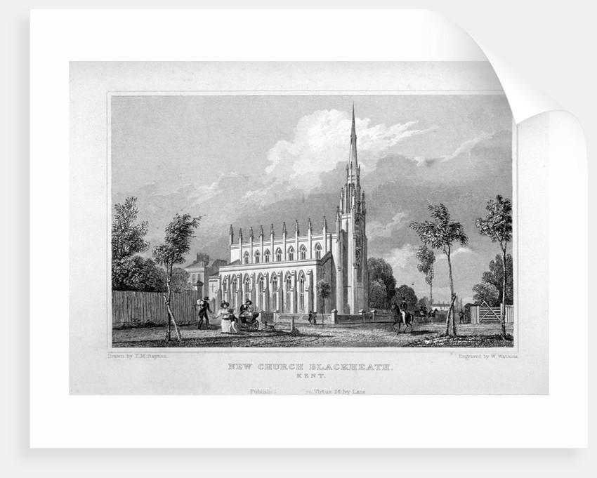 Church of St Michael and All Angels, Blackheath, Greenwich, London by W Watkins