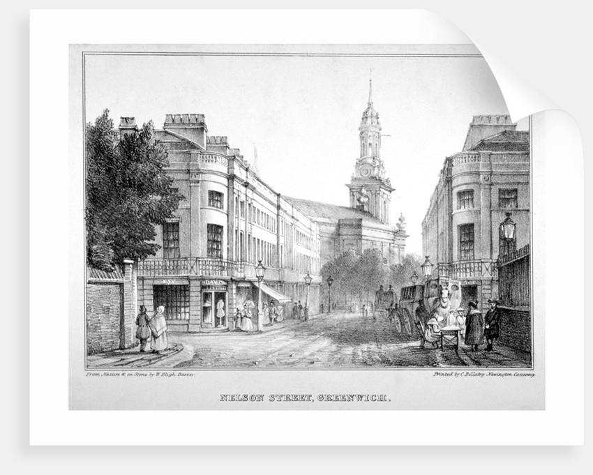 Nelson Street, Greenwich, London by W Bligh Barker