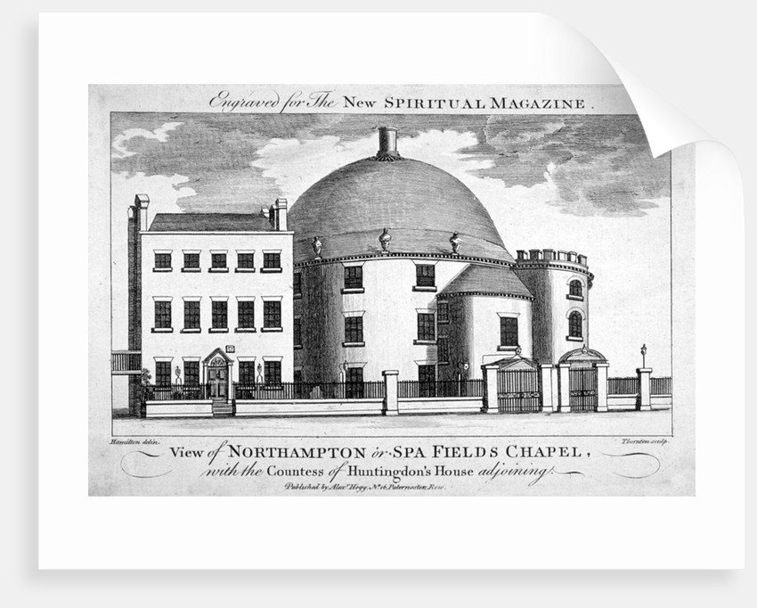Spa Fields Chapel, Finsbury, London by