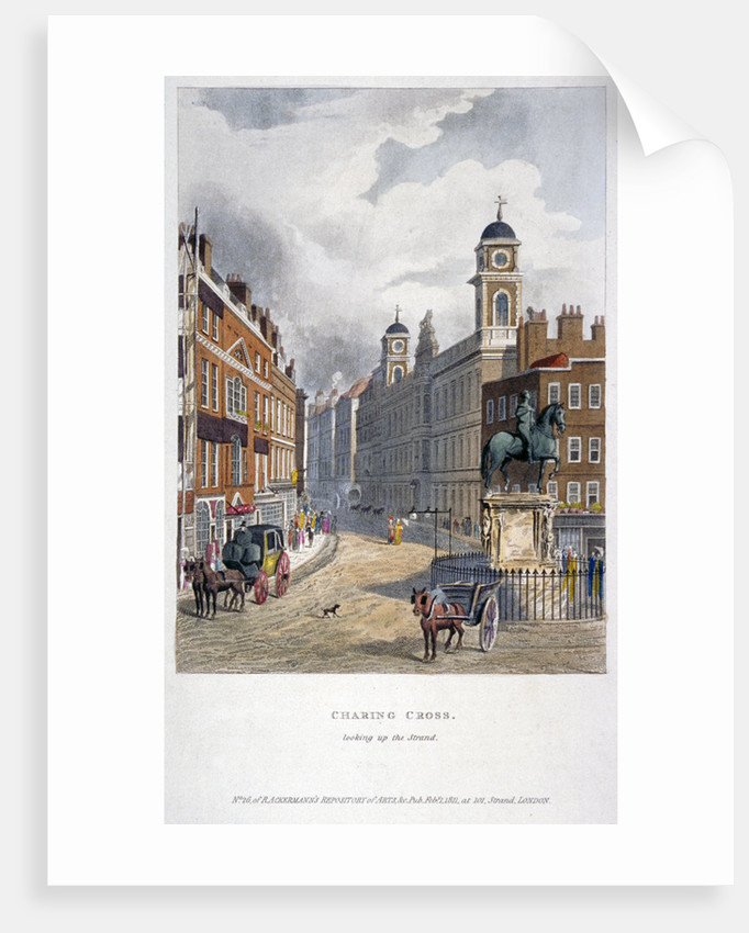 Charing Cross, Westminster, London by Anonymous