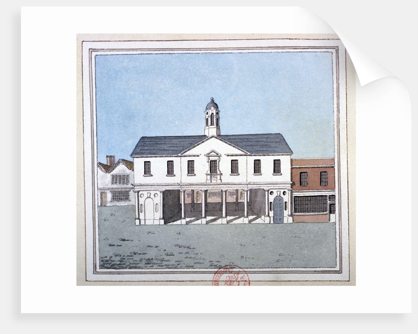 View of Romford Market House, Essex by Anonymous