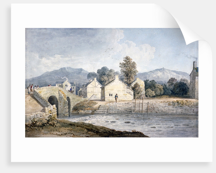 Entrance into Keswick, Cumberland by James Duffield Harding