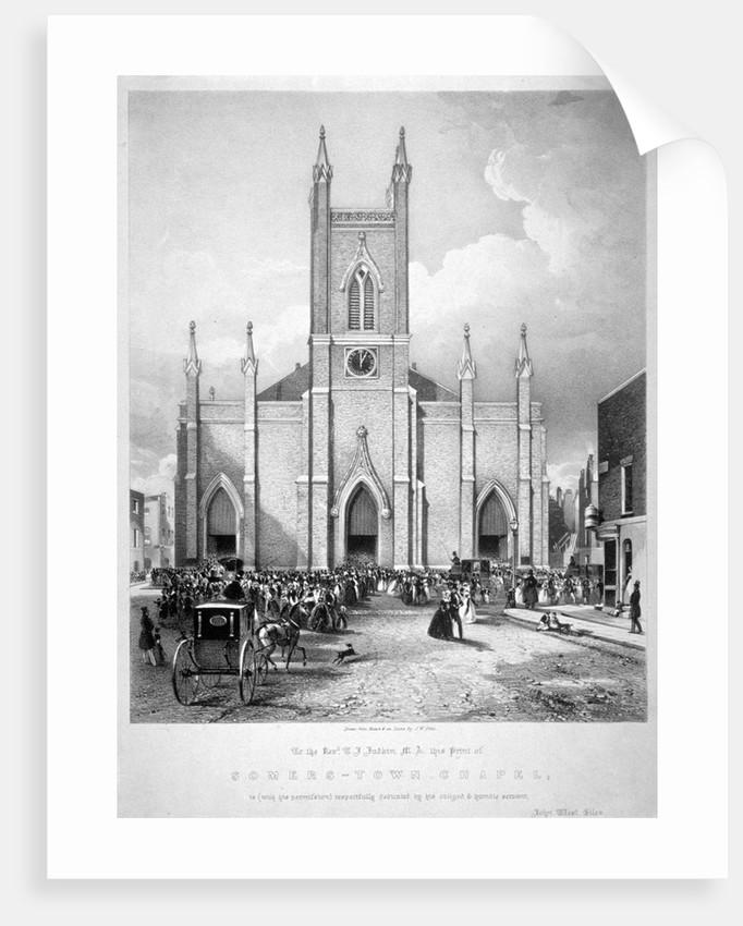 St Mary's Chapel, Eversholt Street, St Pancras, London by John West Giles