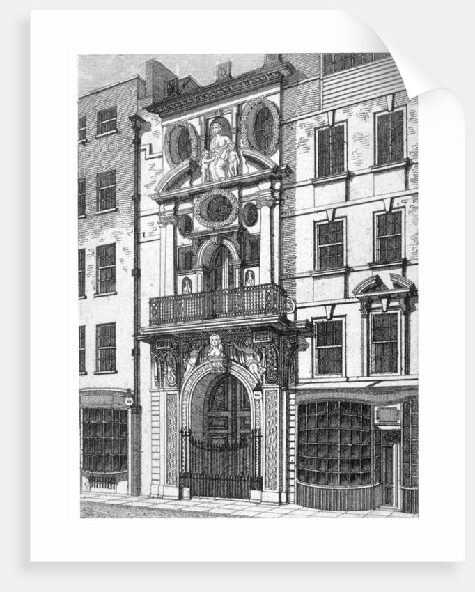 Mercers' Hall, City of London by William Angus