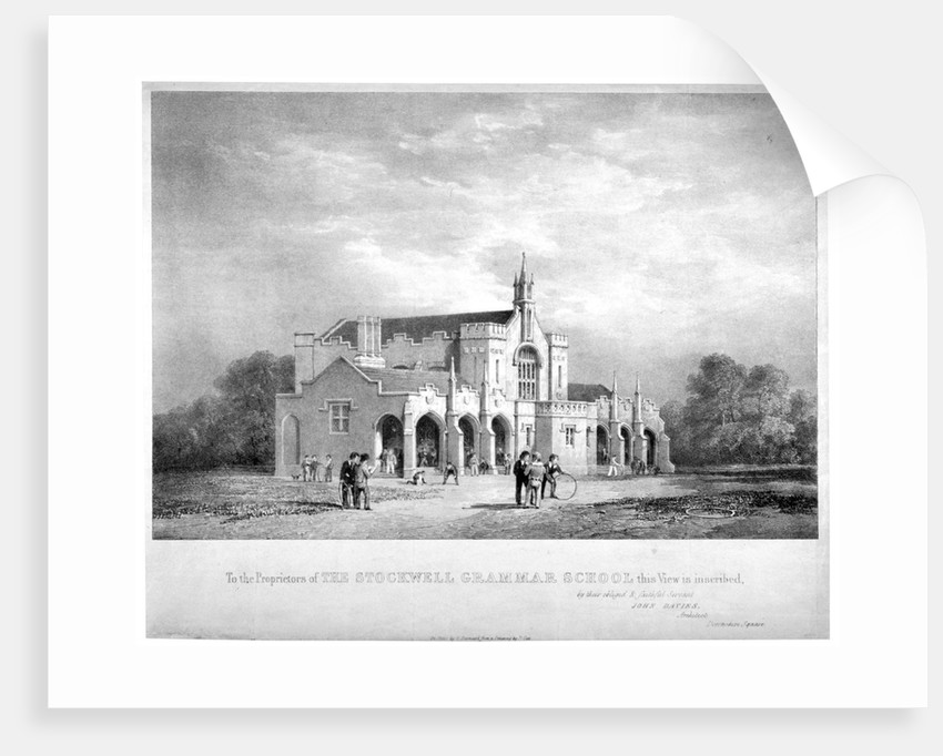 Stockwell Grammar School, Lambeth, London by