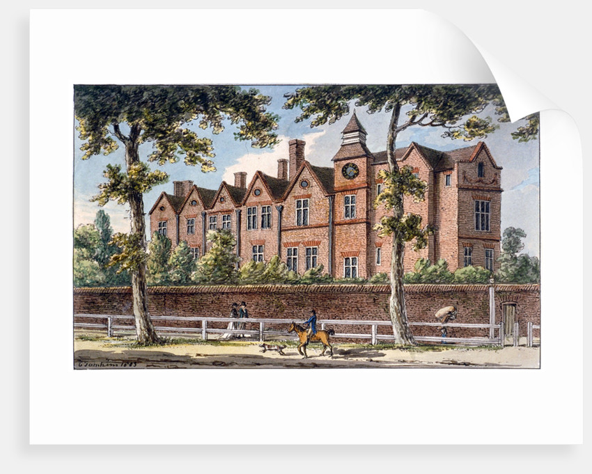 The Manor House, High Street, Marylebone, London by Charles Tomkins
