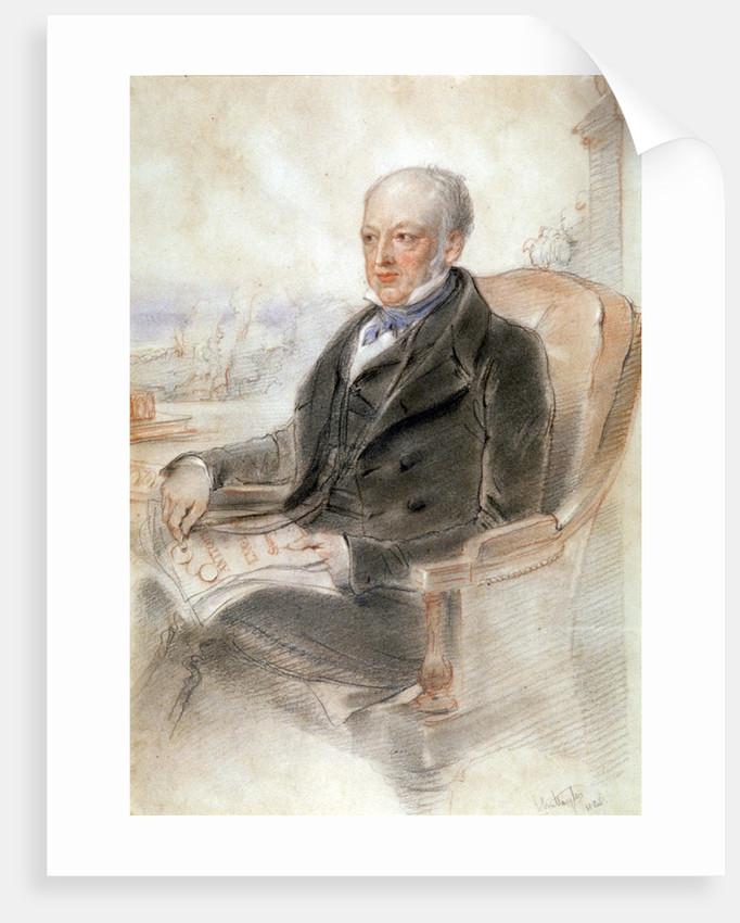 John Britten by John Hayter