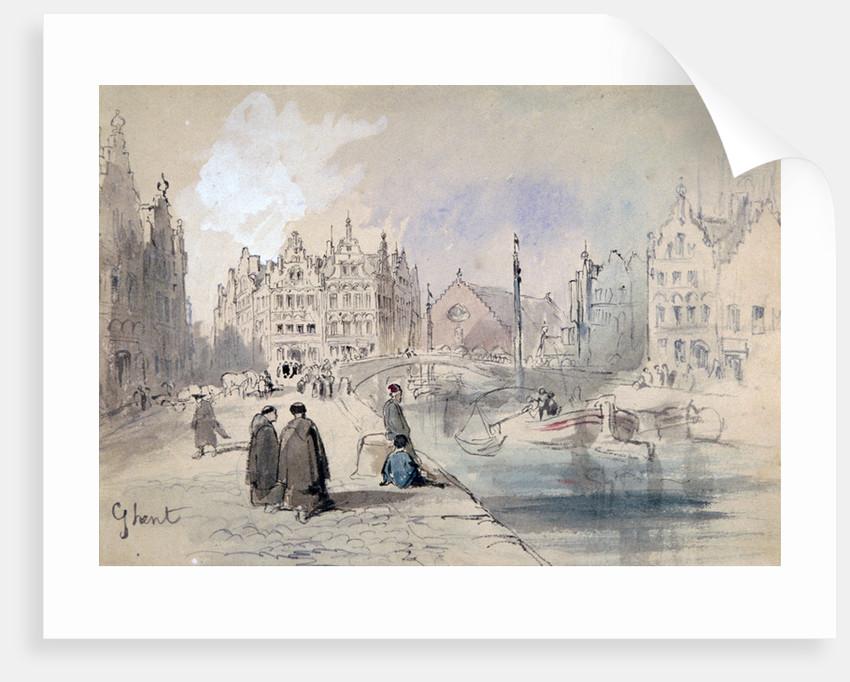 Ghent by Sir John Gilbert