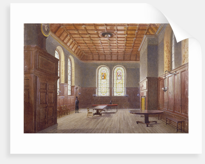 Hall of Clement's Inn, London by John Crowther