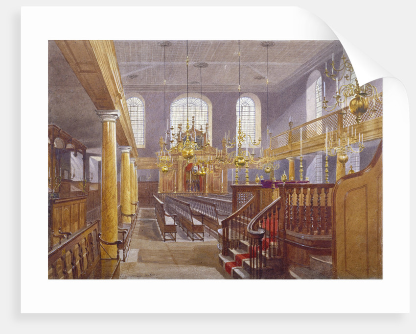 Synagogue, Bevis Marks, City of London by