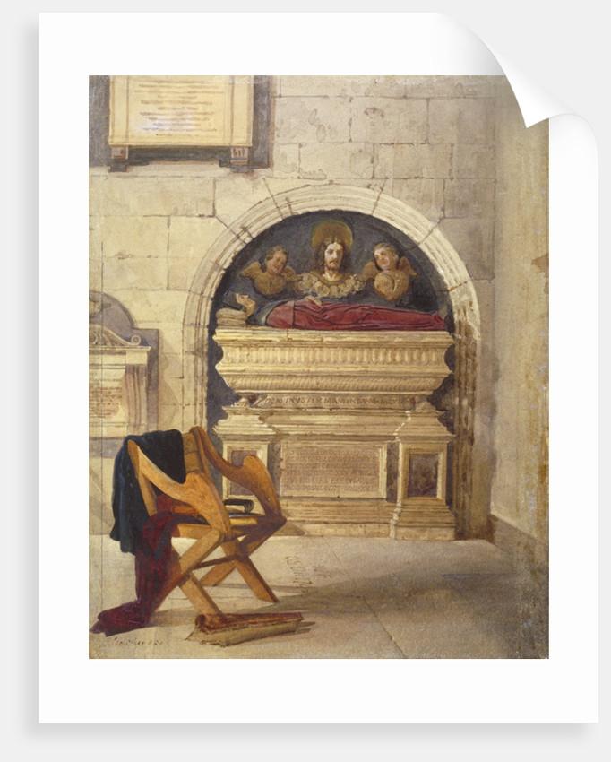 Tomb of Dr John Yonge, Rolls Chapel, Chancery Lane, London by John Crowther
