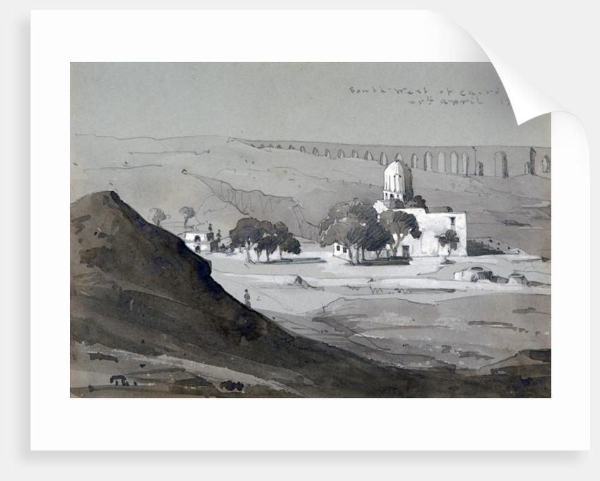 View South West of Cairo by William Clerihew