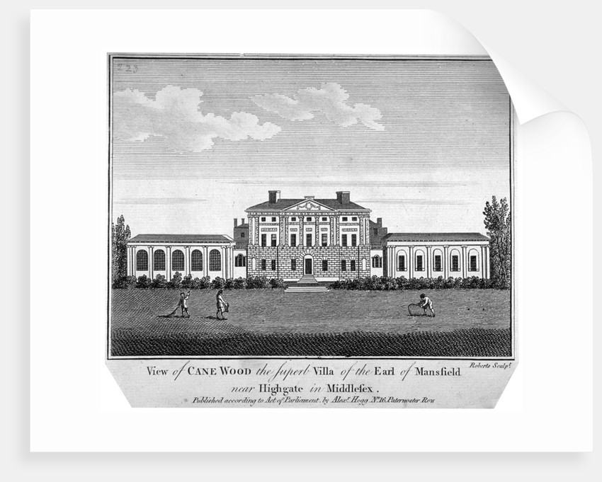 Kenwood House, Hampstead, London by J Roberts