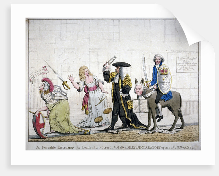A forcible entrance into Leadenhall-Street; by Master Billy Declaratory upon a Dun'd-ass by Anonymous