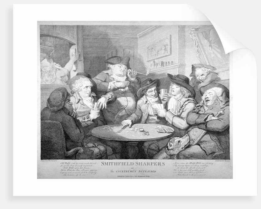 Smithfield sharpers, or the countrymen defrauded by