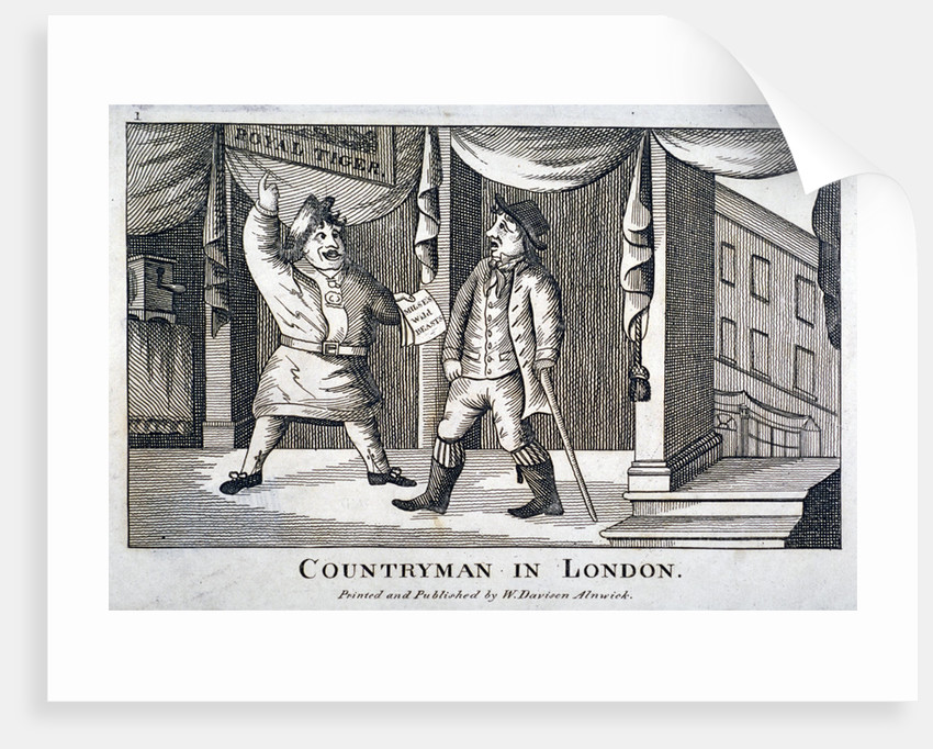 Countryman in London by Anonymous