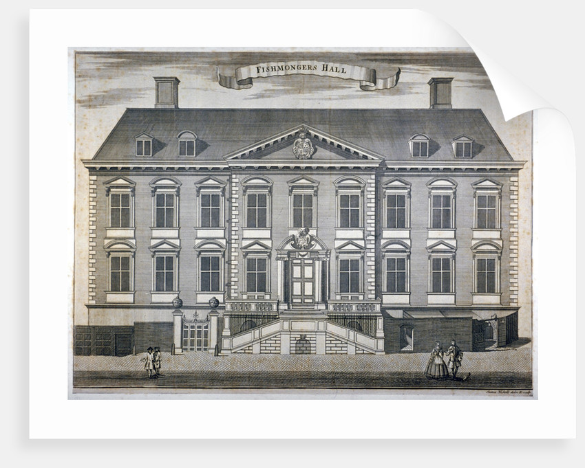 Fishmongers' Hall, City of London by Sutton Nicholls