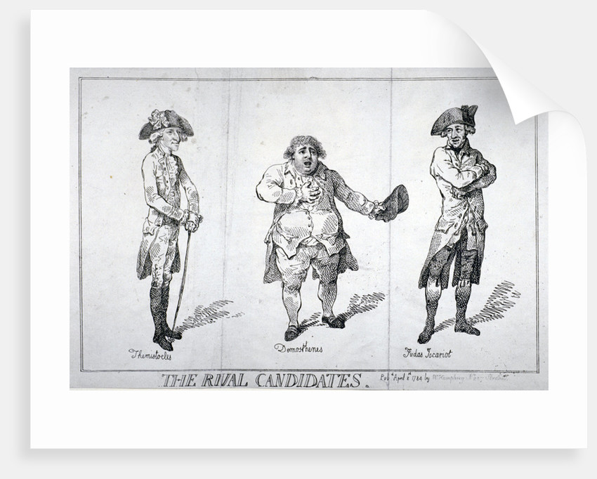The Rival Candidates by Isaac Cruikshank