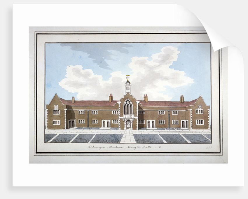 Fishmongers' Almshouses, Southwark, London by Anonymous