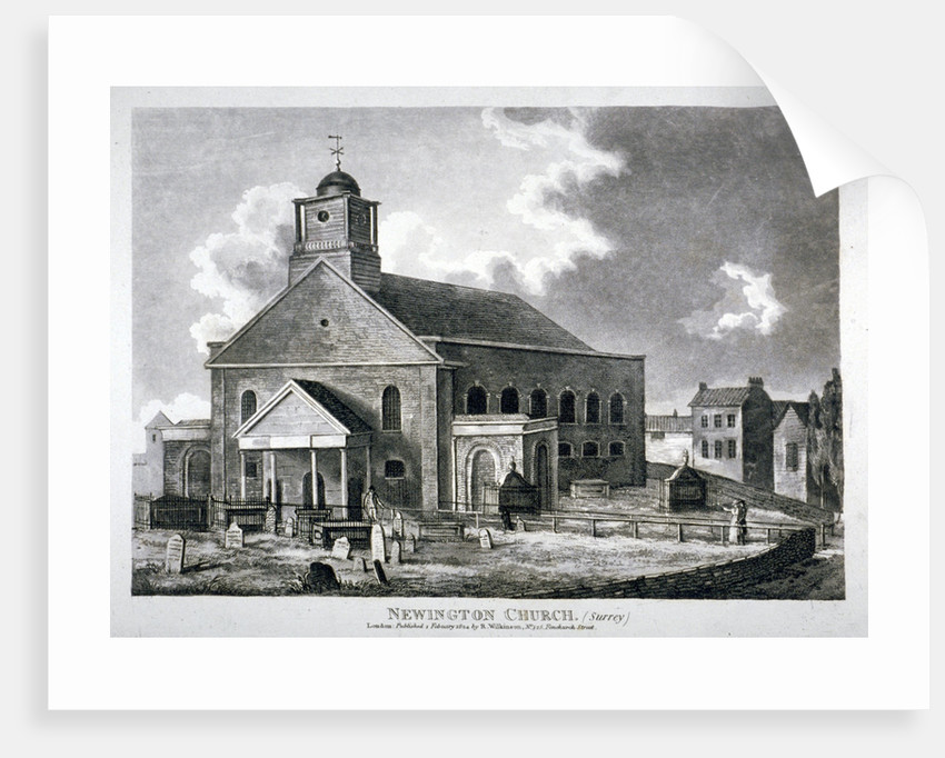 Church of St Mary Newington, Newington Butts, Southwark, London by Anonymous