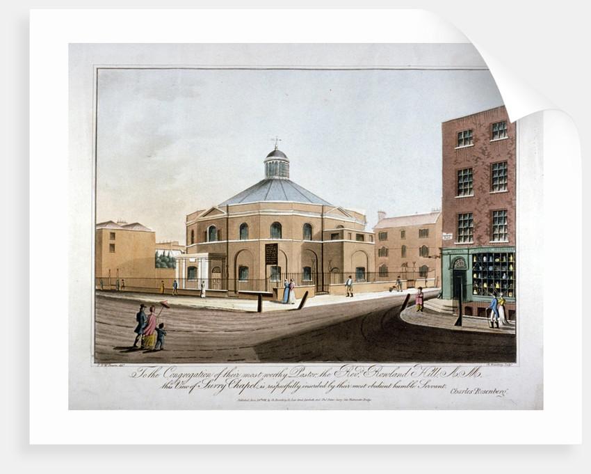 Surrey Chapel, Blackfriars Road, Southwark, London by C Rosenberg