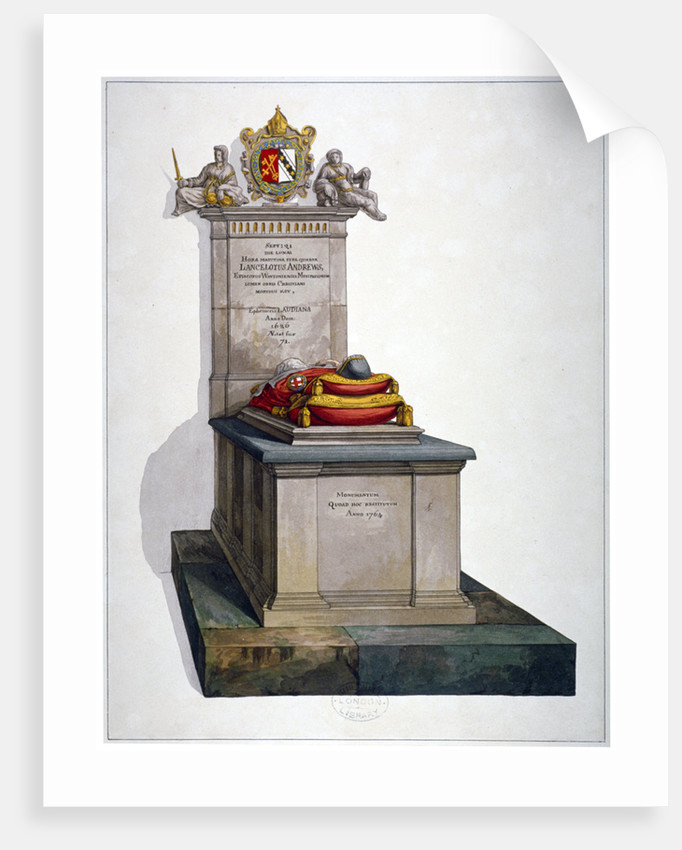 Tomb of Lancelot Andrews, St Saviour's Church, Southwark, London by Anonymous