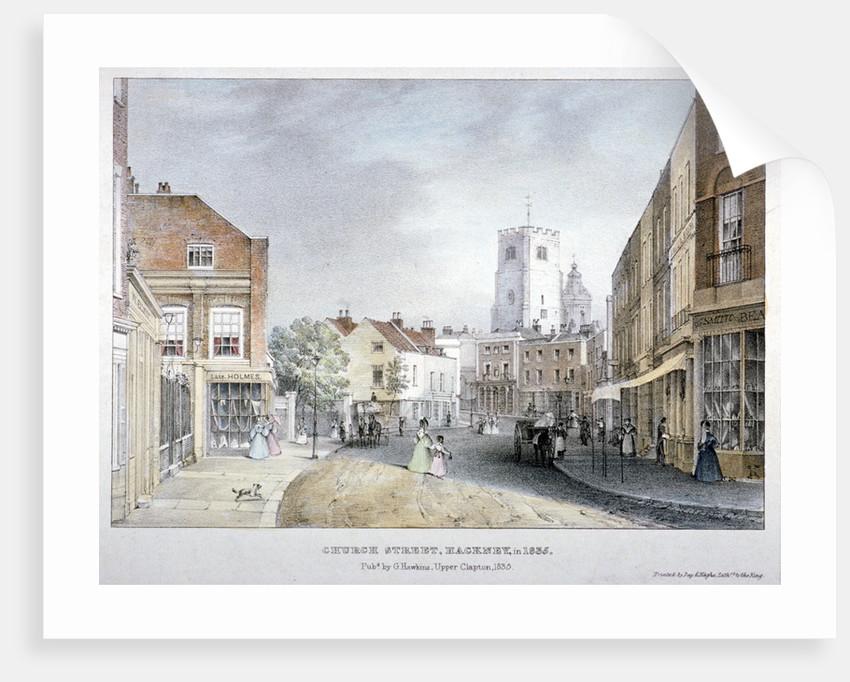 Church Street, Hackney, London by