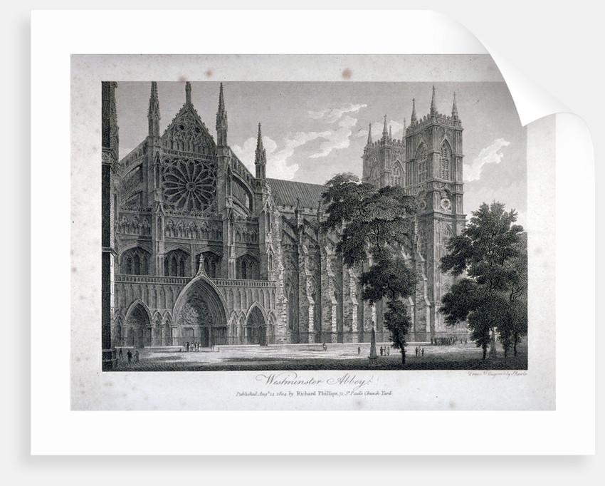 Westminster Abbey, London by Samuel Rawle