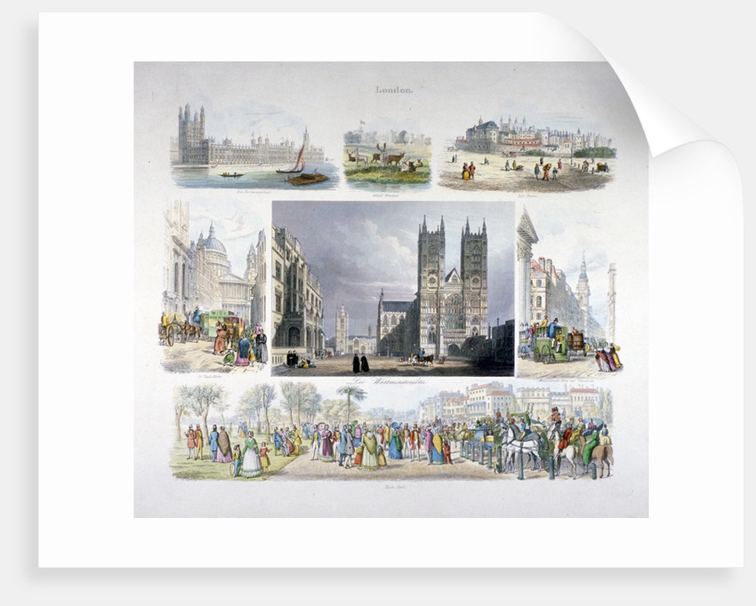 Views of London by Anonymous