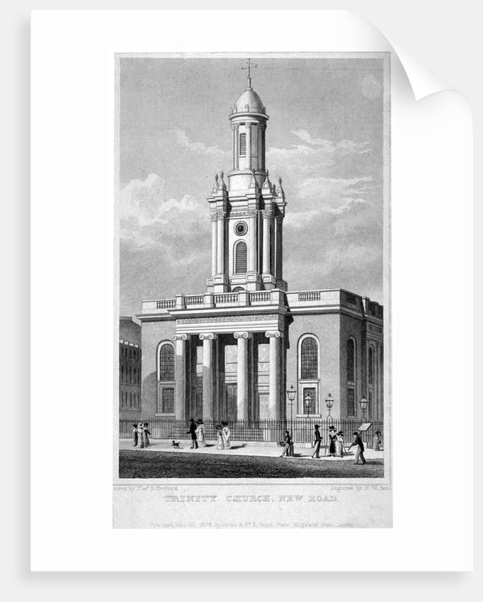 Trinity Church, Euston Road, St Pancras, London by Thomas Hosmer Shepherd