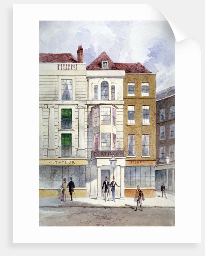The Crown and Anchor Tavern, Arundel Street, Westminster, London by