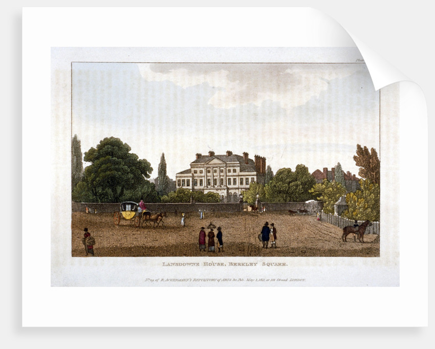 Lansdowne House in Berkeley Square, Mayfair, London by Anonymous