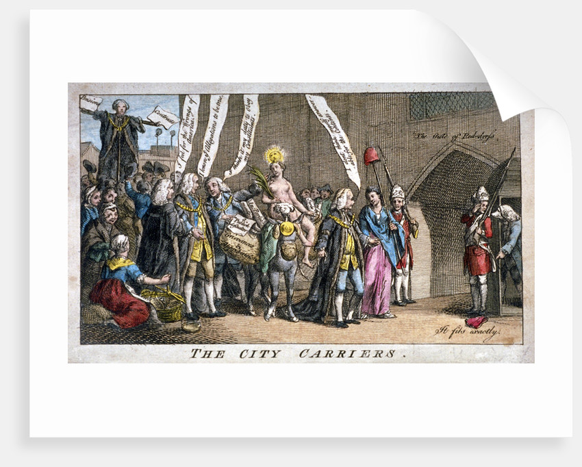 The City carriers by Anonymous