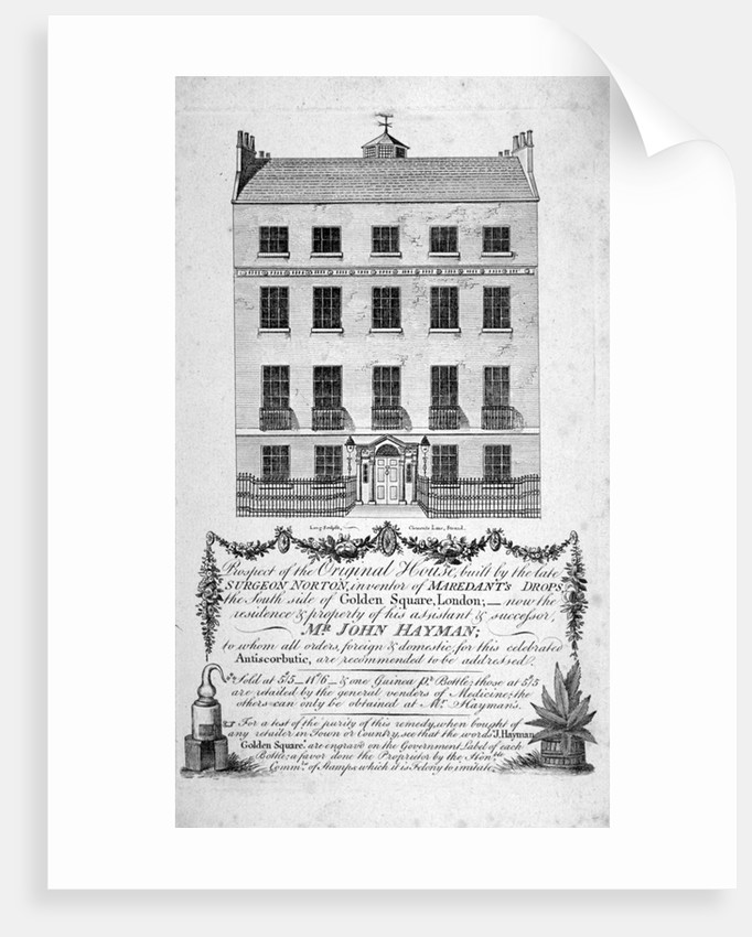 House in Golden Square, Westminster, London by Long