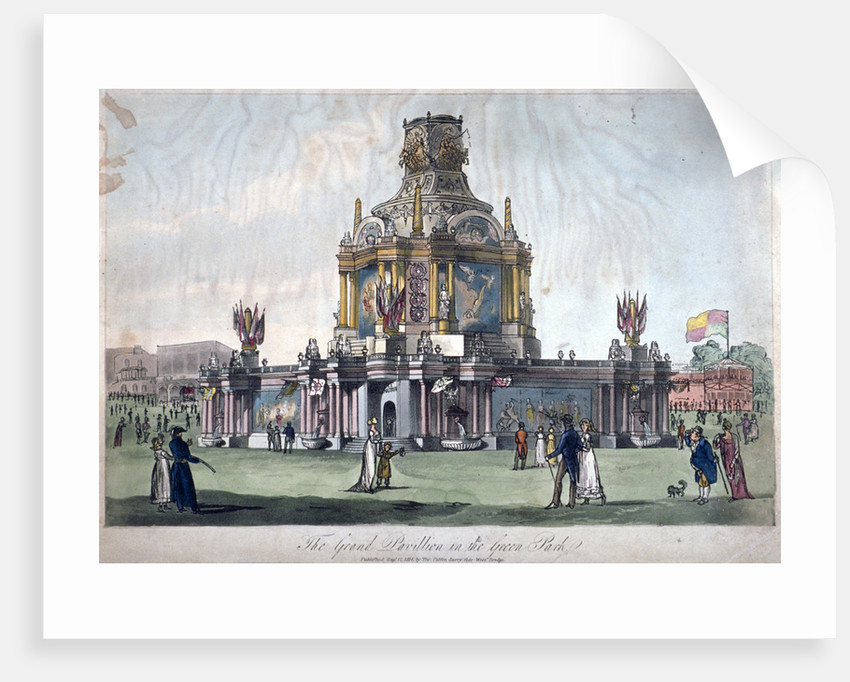 Temple of Concord, Green Park, Westminster, London by Anonymous
