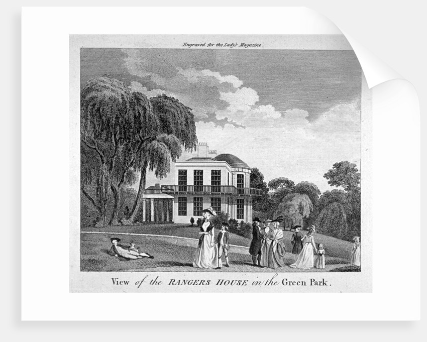 Ranger's House in Green Park, Westminster, London by Anonymous