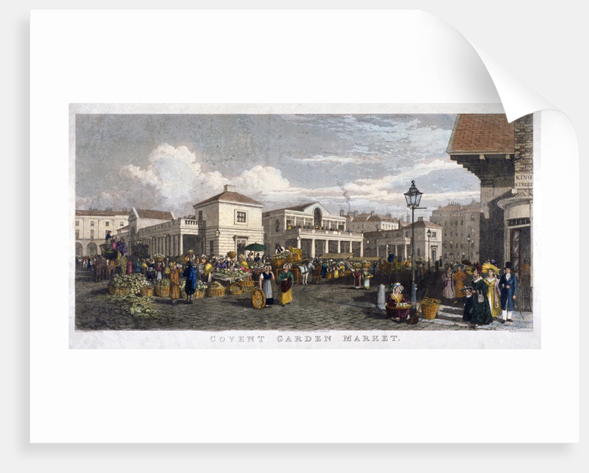 Covent Garden Market, Westminster, London by
