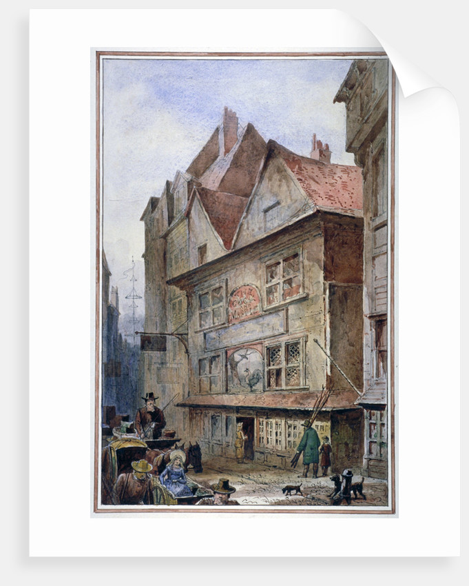 The Cock and Magpie Tavern, Drury Lane, Westminster, London by Waldo Sargeant