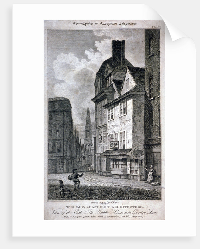 The Cock and Magpie Public House, Drury Lane, Westminster, London by