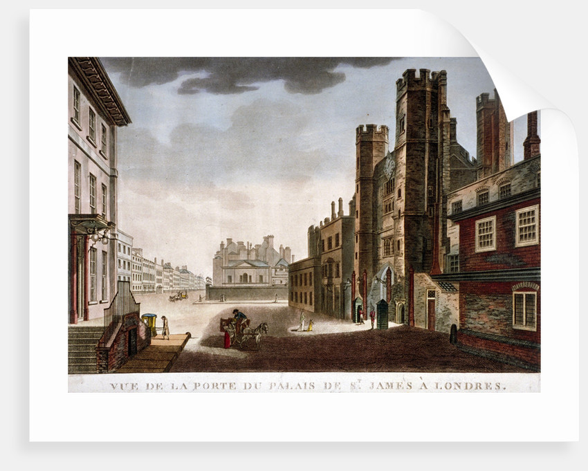 Gate of St James's Palace, Westminster, London by Anonymous
