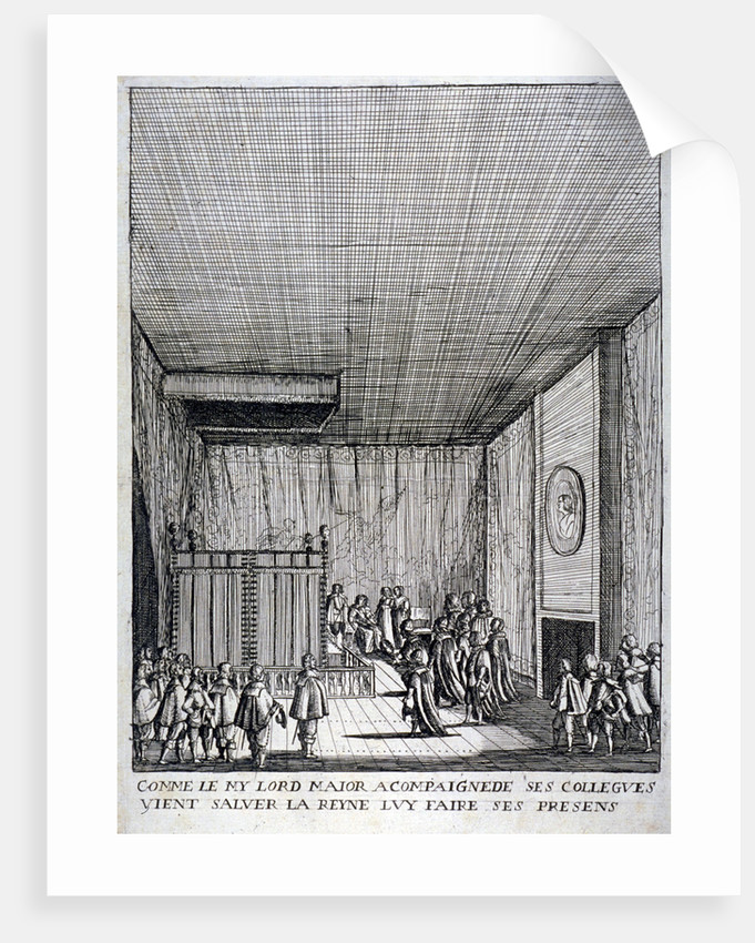 Interior view of St James's Palace, Westminster, London by Anonymous
