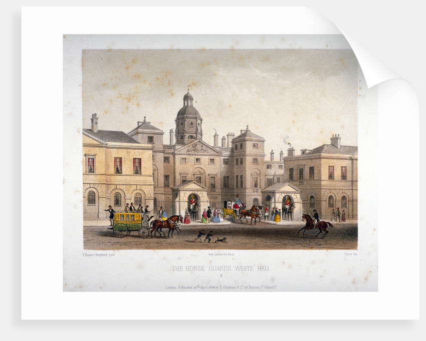 Horse Guards, Westminster, London by