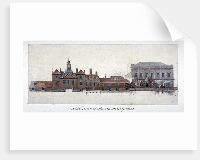 East front of Horse Guards, Westminster, London by