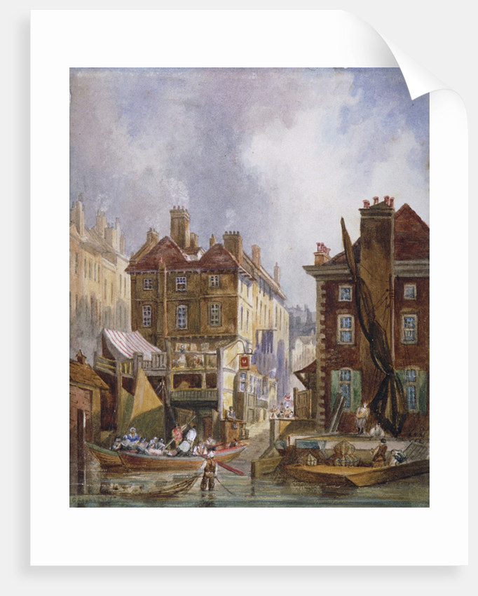 Hungerford Market, Westminster, London by George Shepheard