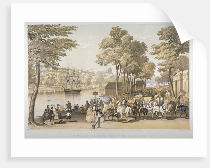 The Great Exhibition, Hyde Park, Westminster, London by Day & Son