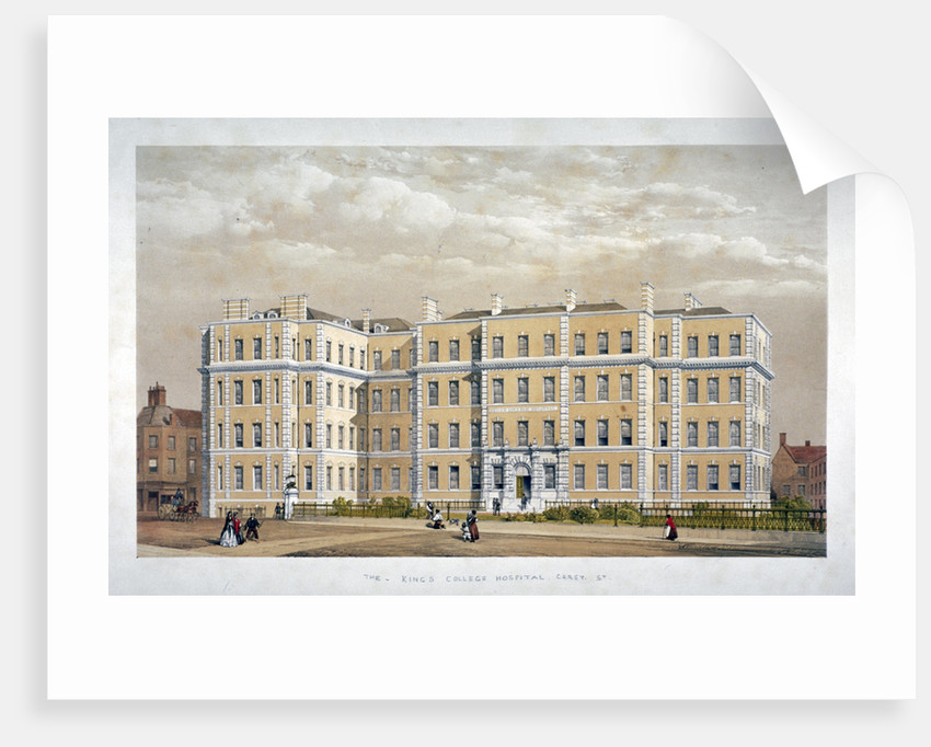 King's College Hospital, Carey Street, Westminster, London by Anonymous