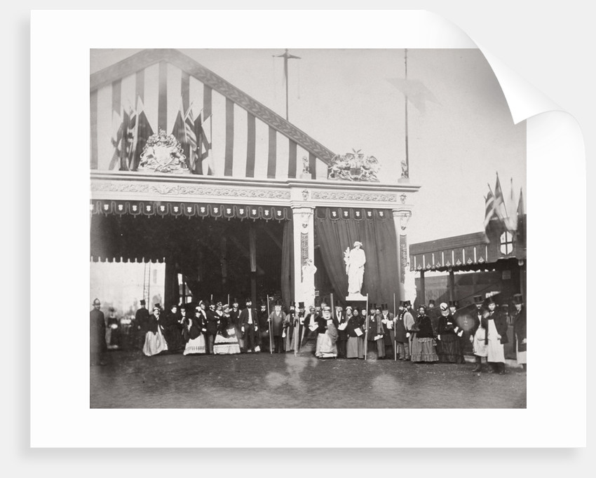 Opening of Holborn Viaduct, City of London by Henry Dixon